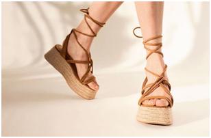 tendencias en sandalias plataforma de este verano